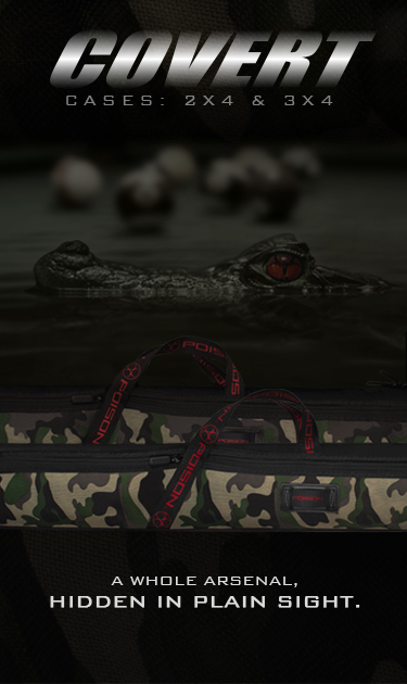 Poison Covert Camouflage Billiard Cases