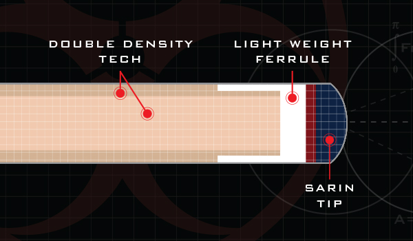 Poison Low Deflection Shaft DD Technology